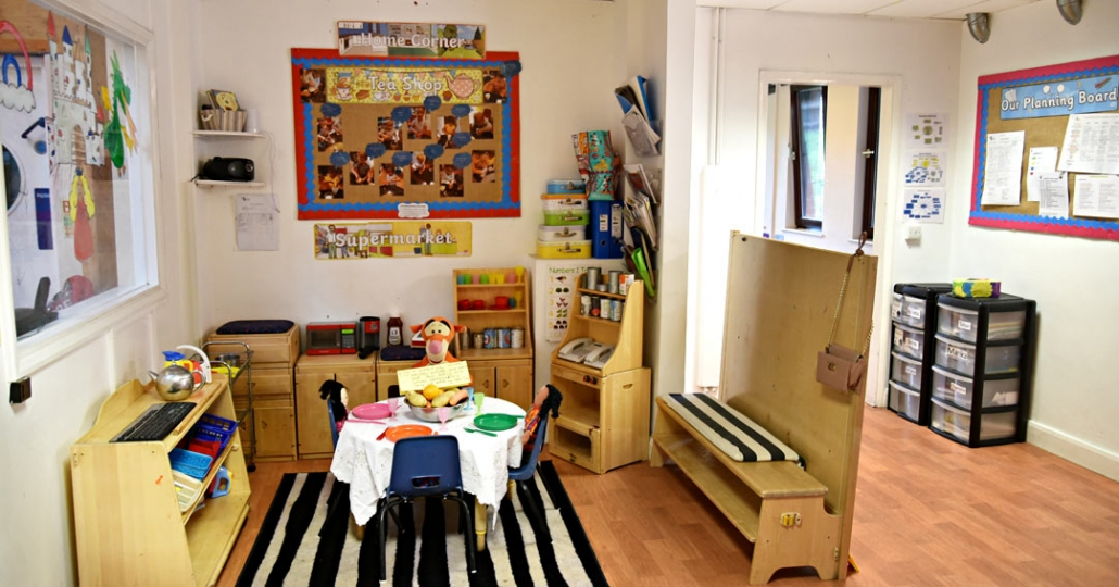 Photograph showing one of our well-equipped rooms at Treetops Nursery in Willesden, NW10