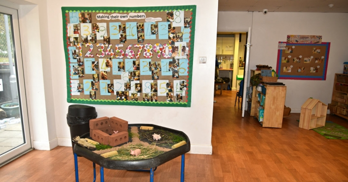 Image of another fabulous room inside Treetops Nursery, London NW10