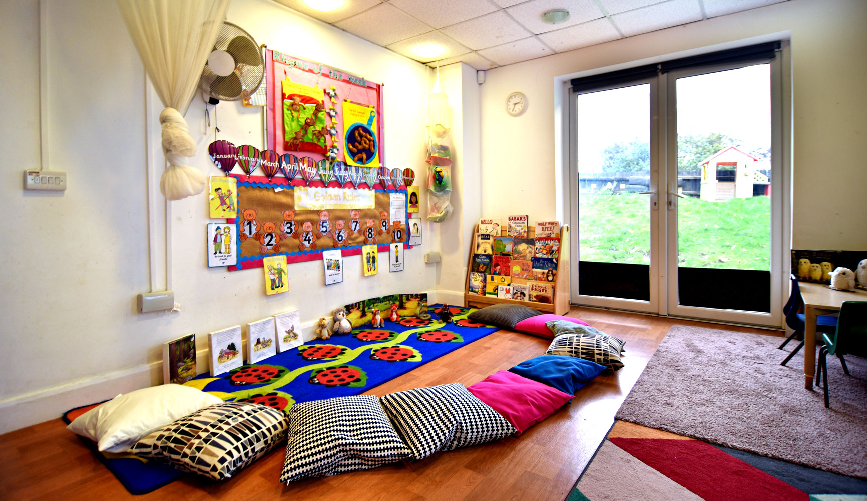 Take a guided tour with us and appraise the nursery & pre-school for suitability for your child.