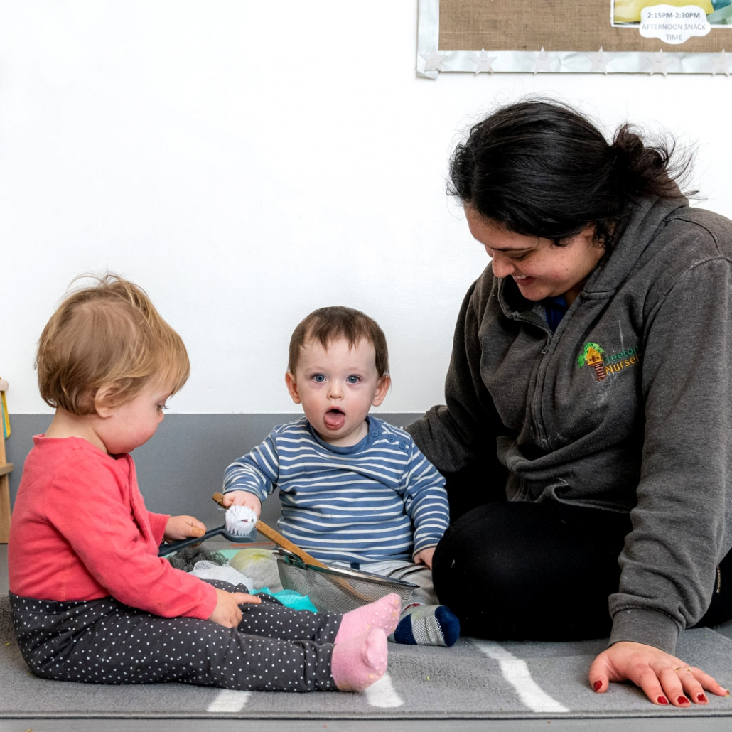 Staff to child ratios are very high at Treetops Nursery