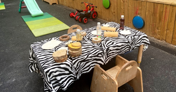 Children can let their imaginations free at Treetops