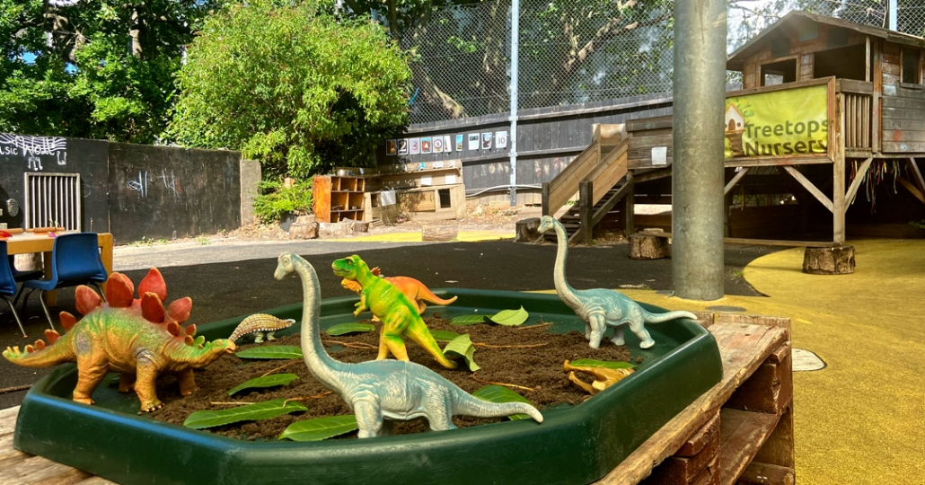 Dinosaurs are very popular at Treetops!