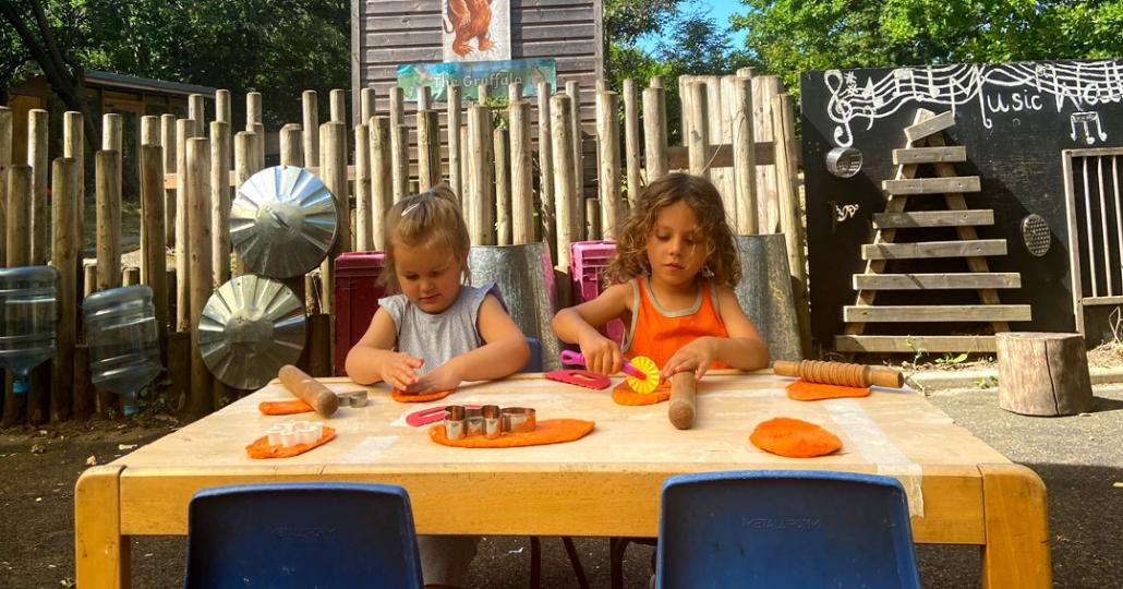Children have great fun at Treetops Nursery