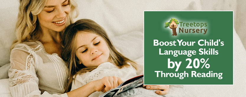 Boost Your Child's Language Skills by 20% Through Reading