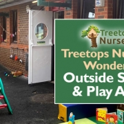 Treetops Nursery's Wonderful Outside Spaces & Play Areas