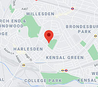 Convenient location in Willesden near Willesden Green, Harlesden & Kensal Green