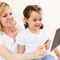 Parents need to control what children view and listen to on handheld screens and on TV - not the children.