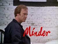 Minder used Willesden as a film location (photo shows Dennis Waterman)