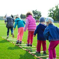 Exercise & active play are key tools for fighting obesity in young children